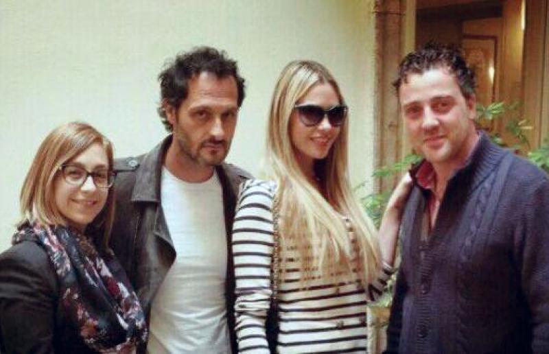 Stella, Troiano, Grazia e Luis